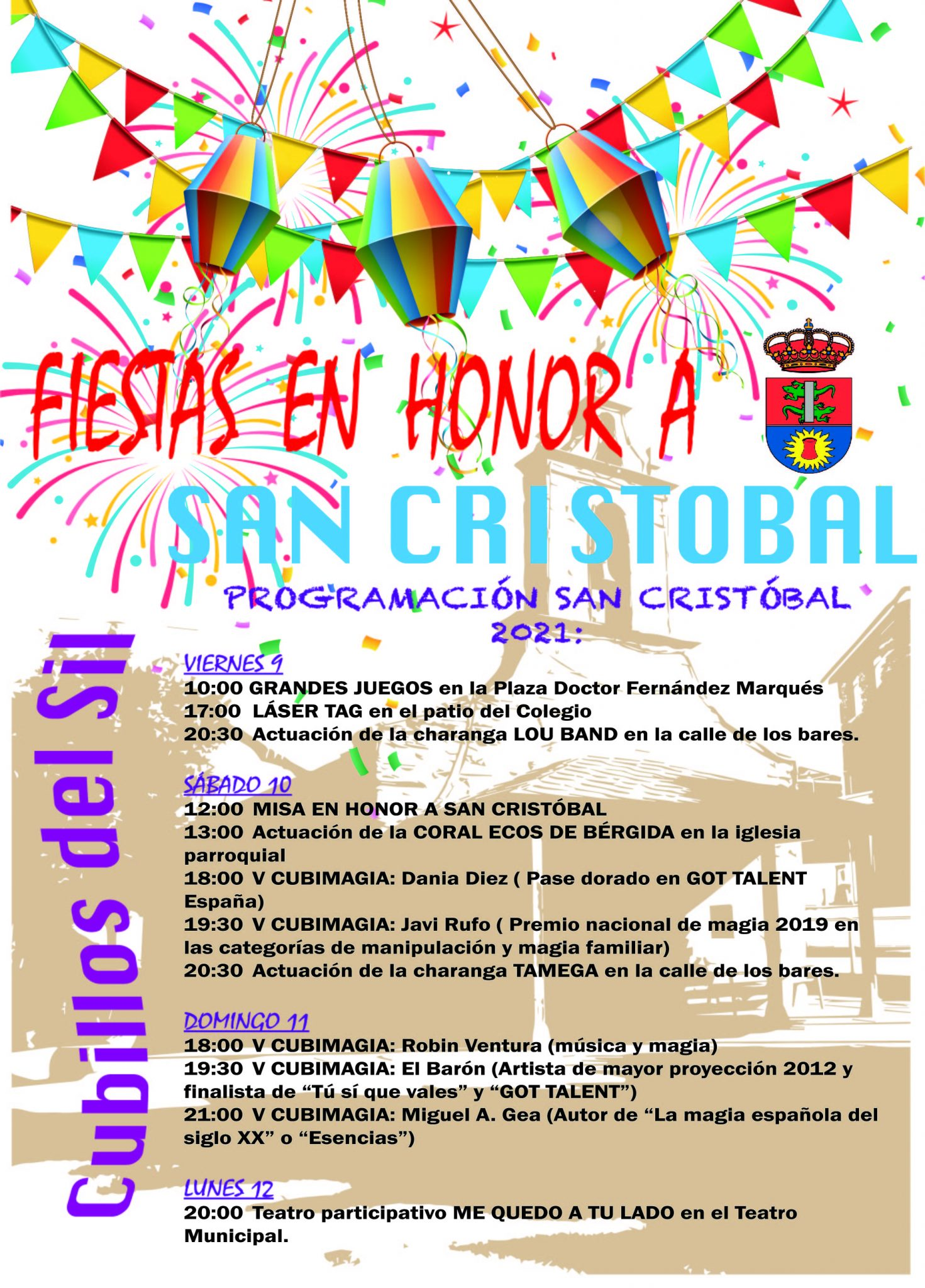 Cubillos del Sil celebra San Cristobal 2021 con actividades para todos del 9 al 12 de julio 5
