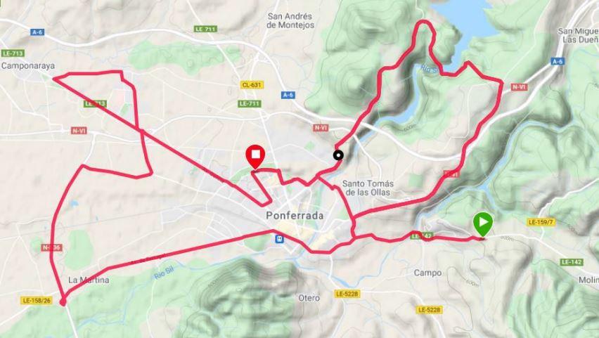 Vuelta Ciclista a Castilla y León, estas son las calles afectadas por la llegada de la prueba 1