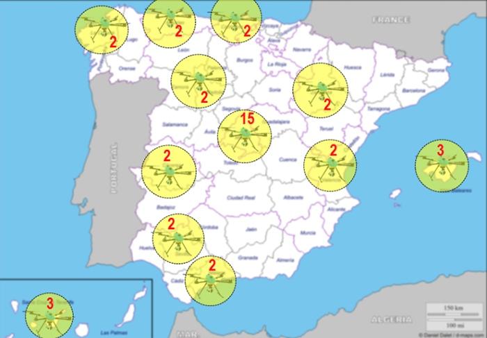 Tráfico distribuye los 39 drones que vigilarán las carreteras de todo el país 1