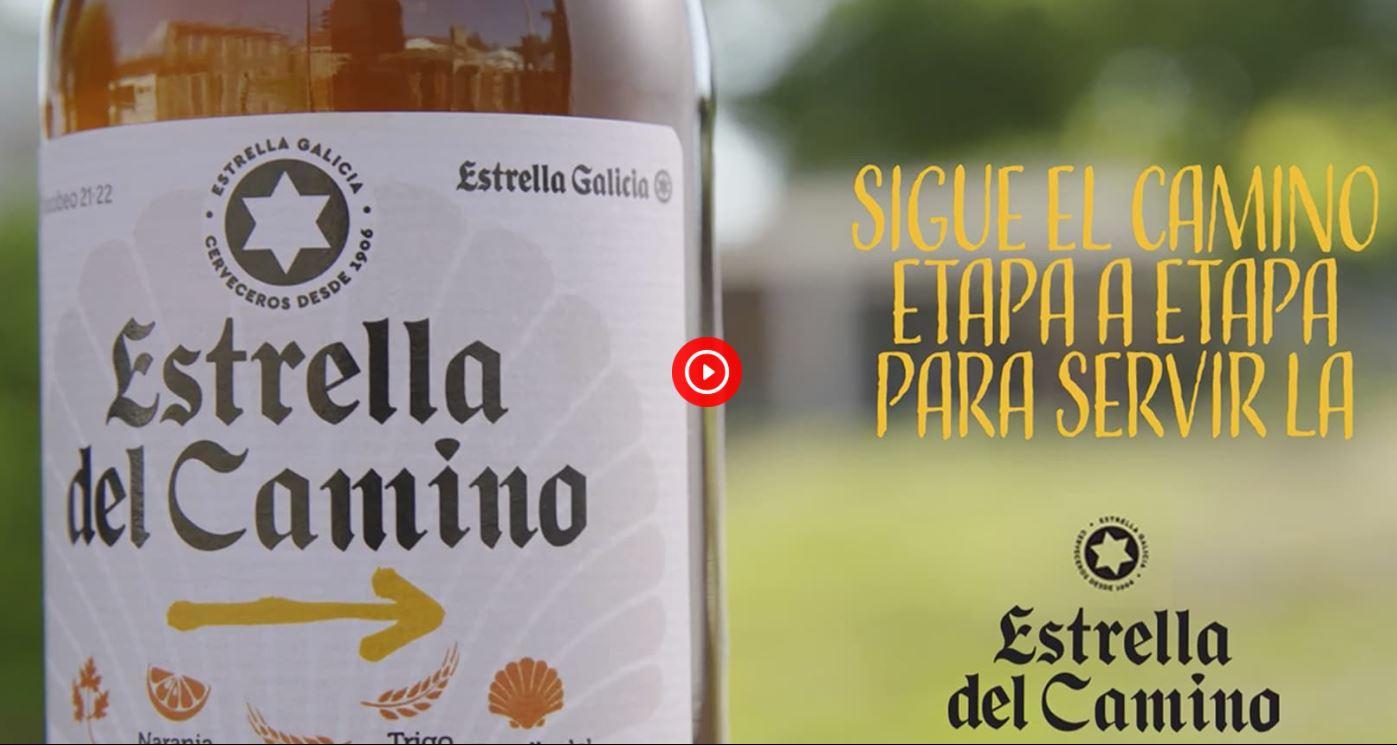 Estrella Galicia presenta 'Estrella del Camino', una cerveza de edición limitada en homenaje al Xacobeo 2021-22 1