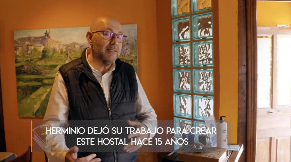 'Viajeros Cuatro' hace su particular Camino de Santiago desde Villafranca del Bierzo 2