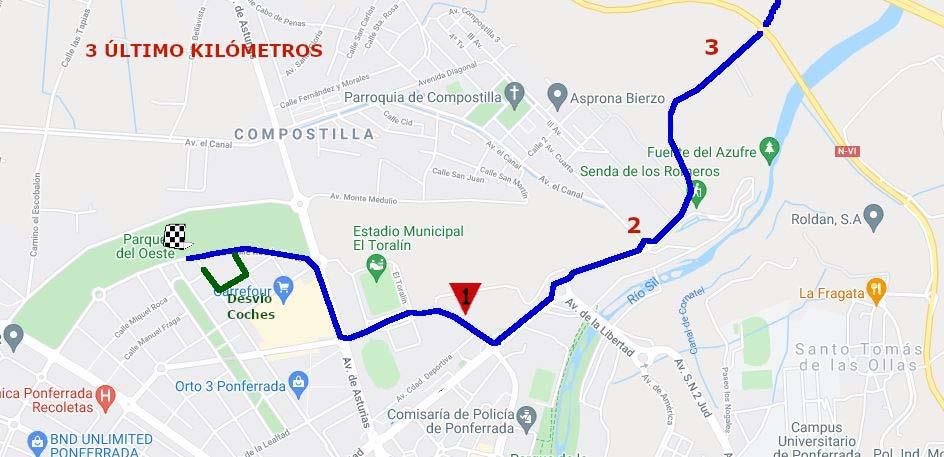 La Vuelta Ciclista Internacional de Castilla y León finaliza en Ponferrada este jueves 2