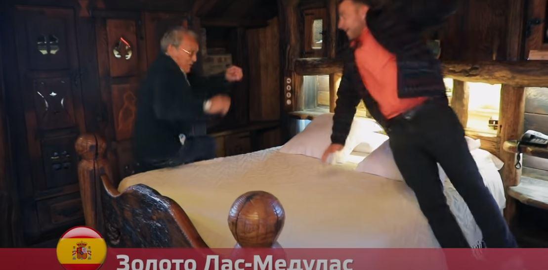 El Bierzo y León se muestran en la Televisión rusa, gracias al programa 'Orel i reshka' 2