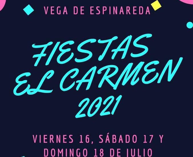 Las Fiestas del Carmen regresan a Vega de Espinareda los días 16, 17 y 18 de julio 1
