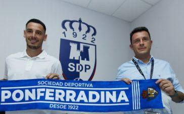 El centrocampista Paul Anton, nuevo jugador de la SD Ponferradina 3