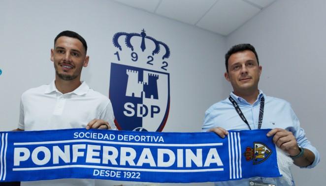 El centrocampista Paul Anton, nuevo jugador de la SD Ponferradina 1