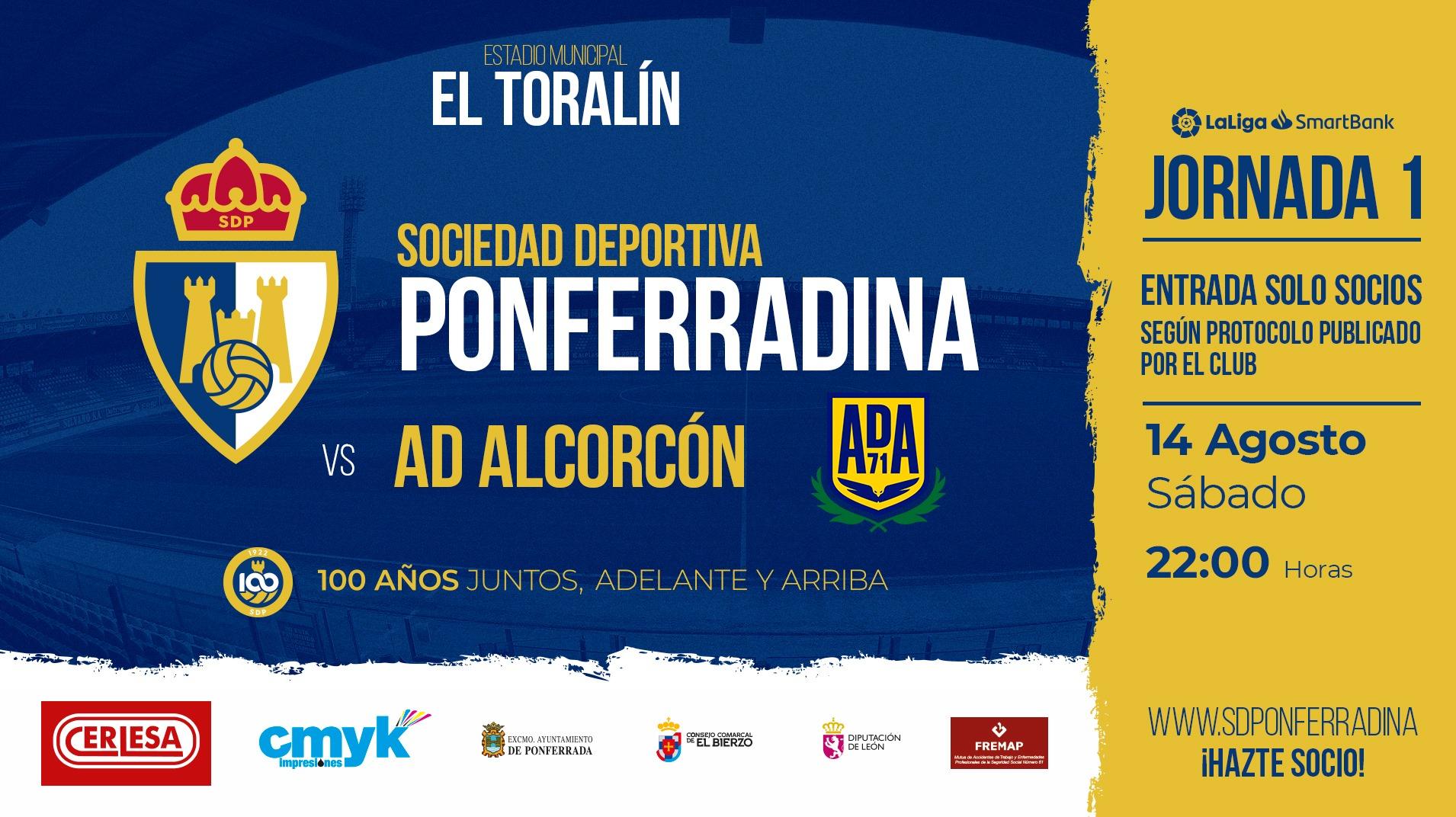 La Ponferradina publica las normas de asistencia al estadio para el partido frente al Alcorcón 1
