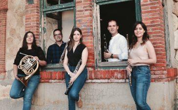 Concierto del Quinteto de viento Scherzo en el festival Corteza de encina 9