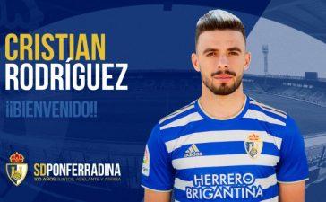 La SD Ponferradina incorpora al centrocampista Cristian Rodríguez 2