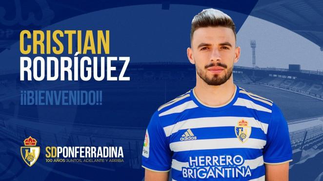 La SD Ponferradina incorpora al centrocampista Cristian Rodríguez 1