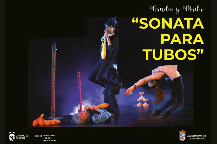 Camponaraya disfrutará el sábado del divertido espectáculo 'Sonata para tubos' 1