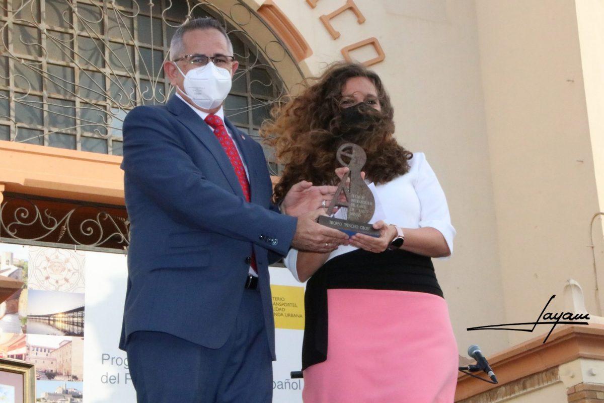 El Festival Nacional de Exaltación del Botillo recibe el premio Pencho Cros a la Gastronomía del Festival Cante de las Minas de La Unión (Murcia) 1