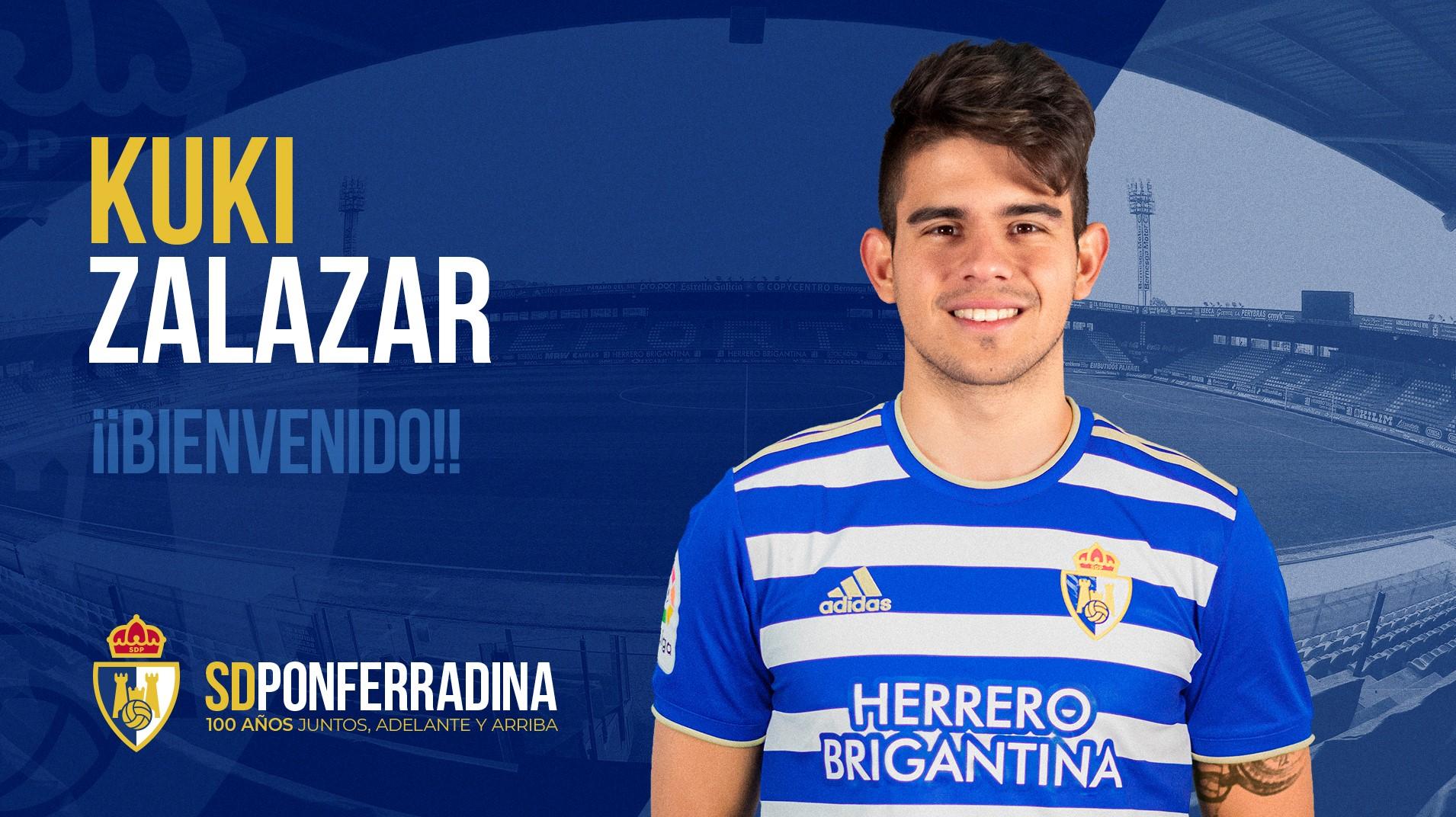 OFICIAL: Kuki Zalazar se une a la SD Ponferradina 1