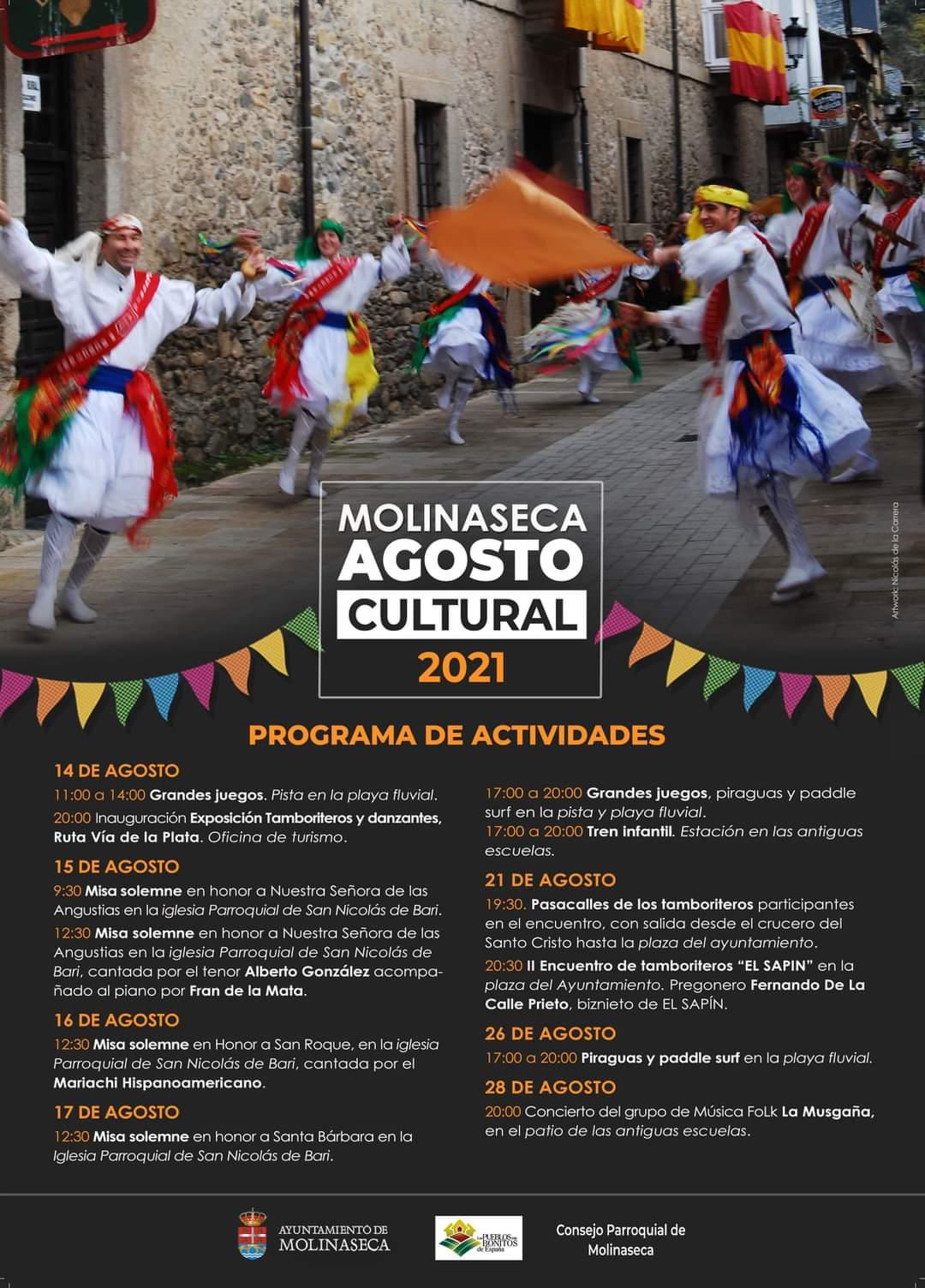 Molinaseca organiza unas fiestas 'sin agua' pero con actividades culturales 2