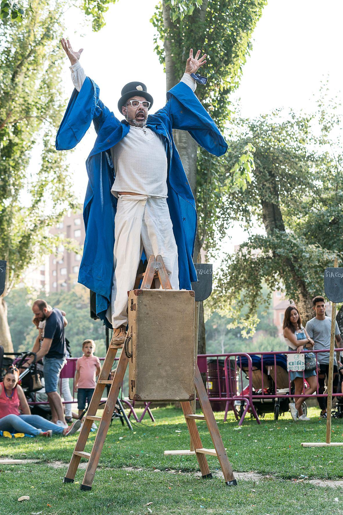 Ponferrada servirá de escenario para un teatro callejero la próxima semana 2