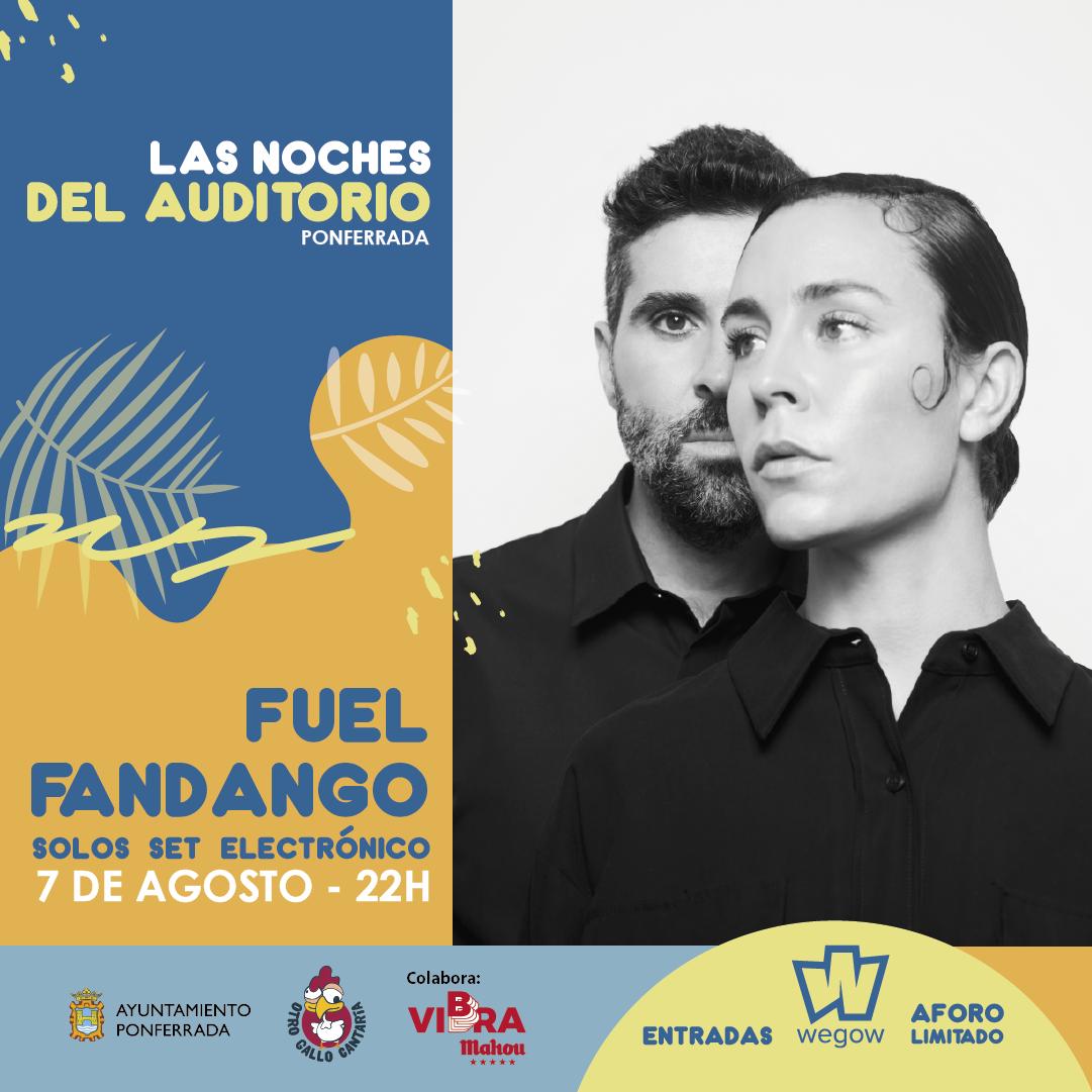La fusión flamenca de Fuel Fandango llega a las Noches del Auditorio de Ponferrada 2