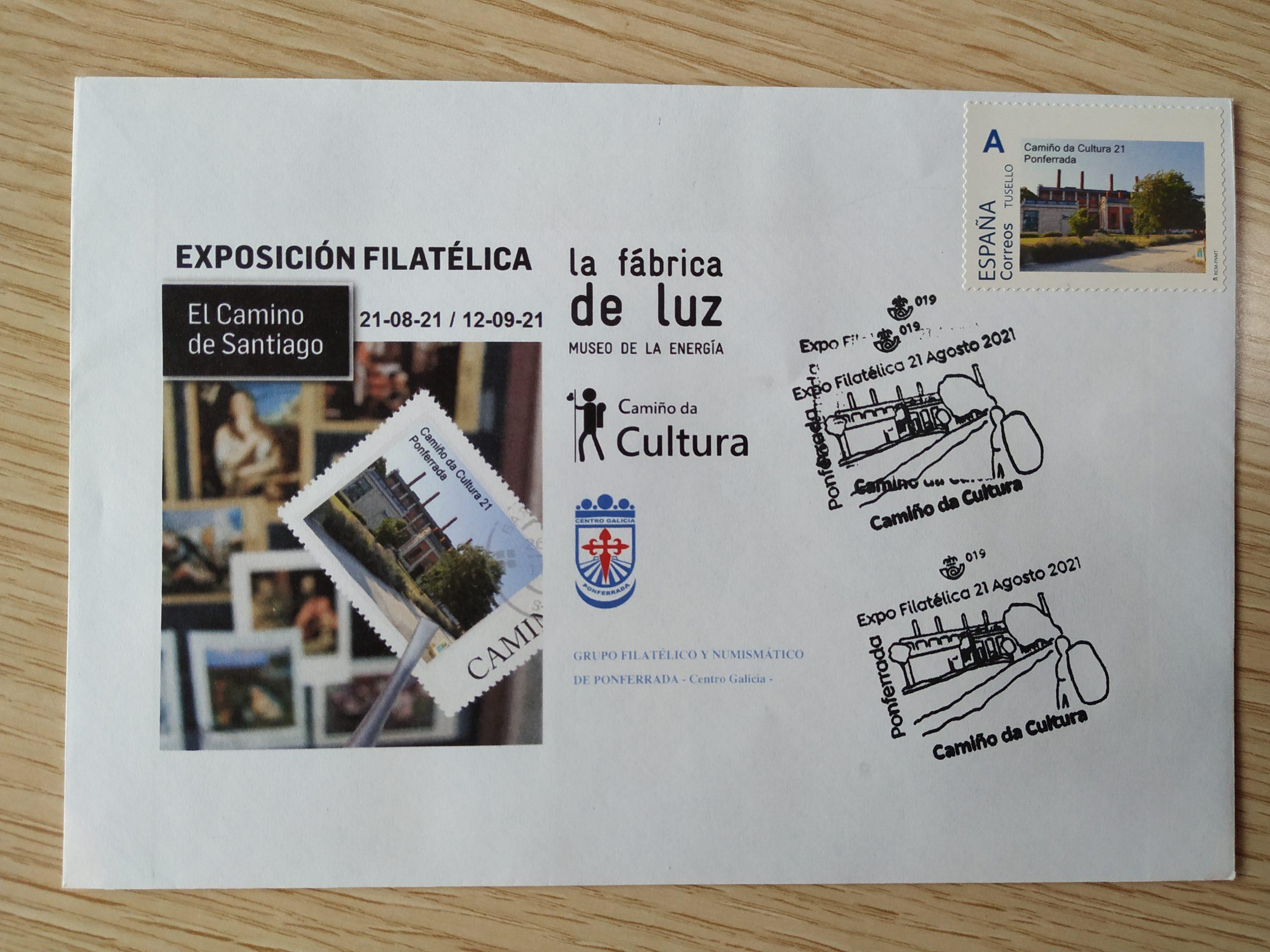 El Museo de la Energía inaugura una exposición filatélica con motivo del lanzamiento del sello, matasellos y sobre conmemorativo 1