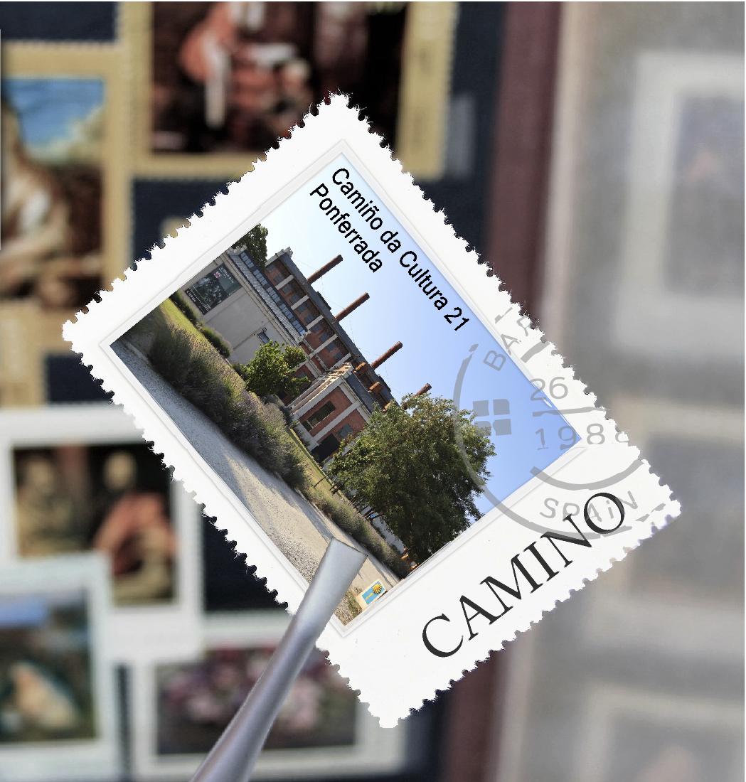 El Museo de la Energía presenta su sello conmemorativo del Xacobeo 1