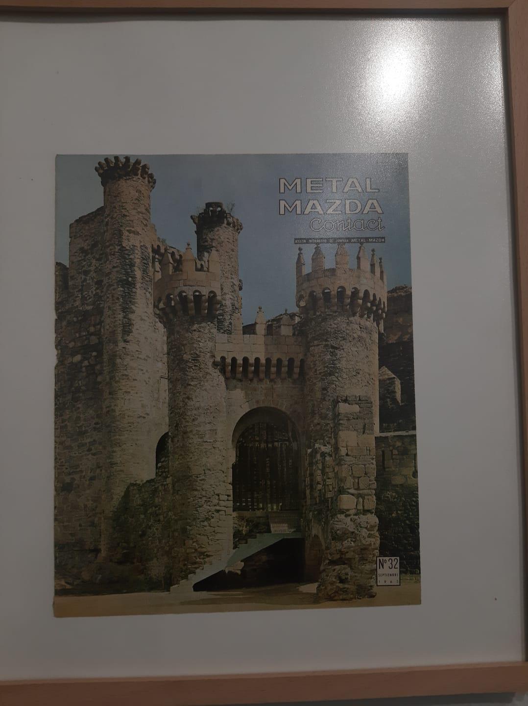 La cartelería del Castillo de los Templarios sirve como inspiración para una nueva exposición en La Biblioteca de Ponferrada 7