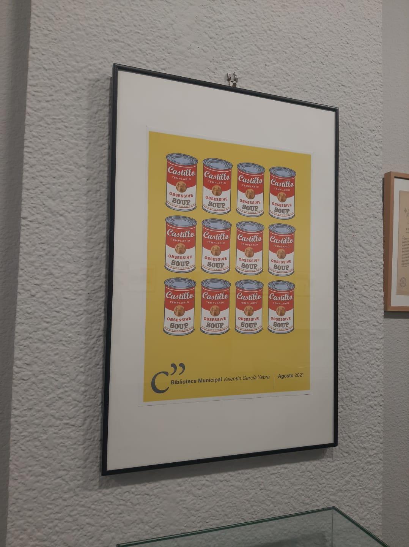 La cartelería del Castillo de los Templarios sirve como inspiración para una nueva exposición en La Biblioteca de Ponferrada 10