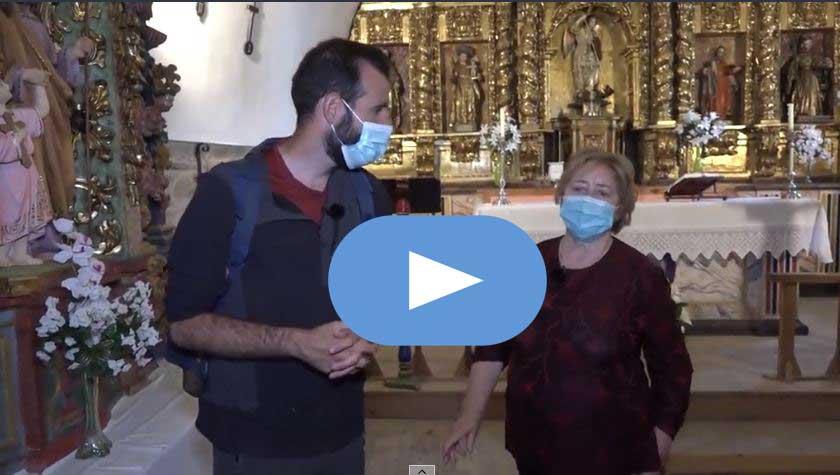 El canal de TV TRECE recorre en un reportaje el Camino de Santiago a su paso por El Bierzo 1