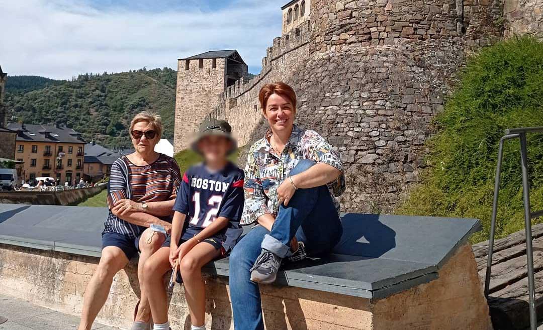 Marta Solano, presentadora de 'España Directo' disfruta de una visita al Bierzo 1