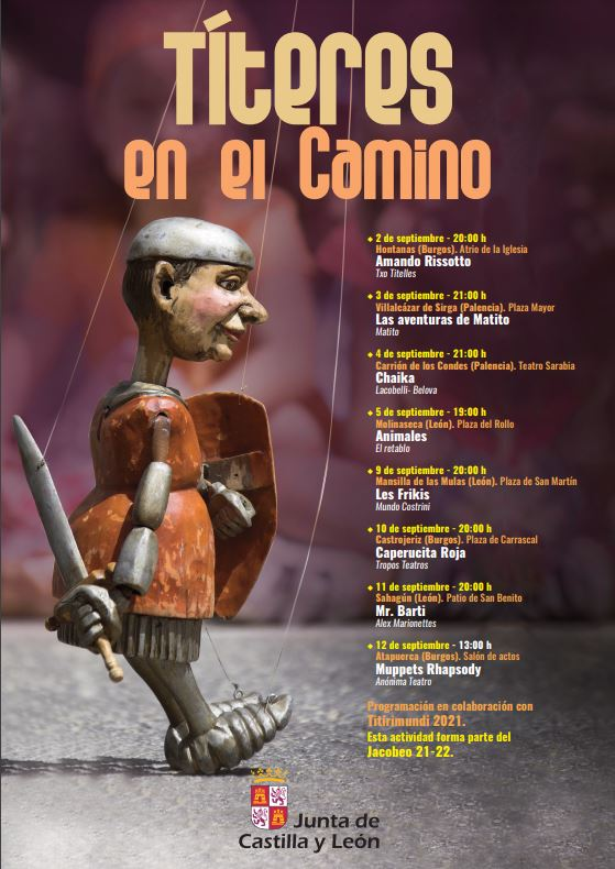 La Junta presenta el programa 'Títeres en el Camino' con espectáculos de títeres en ocho localidades del Camino de Santiago Francés entre ellas Molinaseca 2