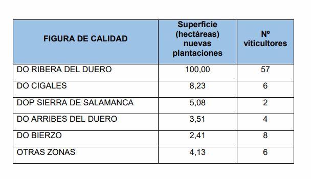 La junta autoriza dos hectáreas y media de nueva plantación de viñedos en el Bierzo 2