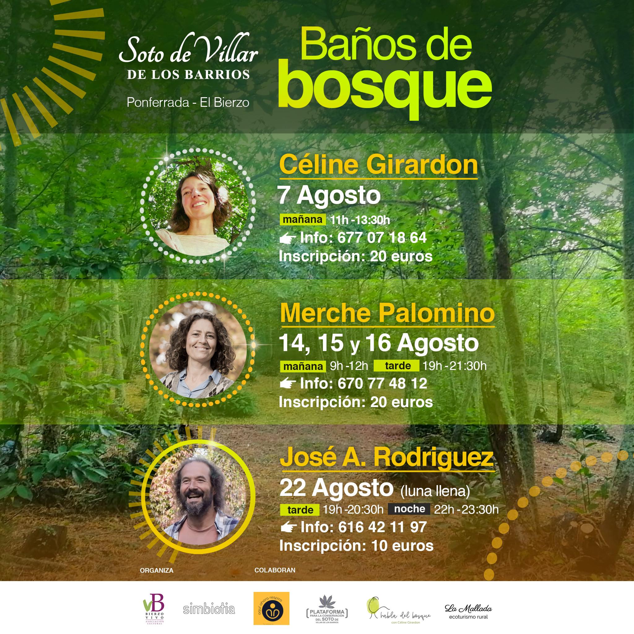 Programa AGOSTO de Baños de Bosque en el Soto de Villar 1