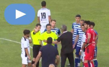 El amistoso entre el Zamora y la Ponferradina termina con un improvisado árbitro 2