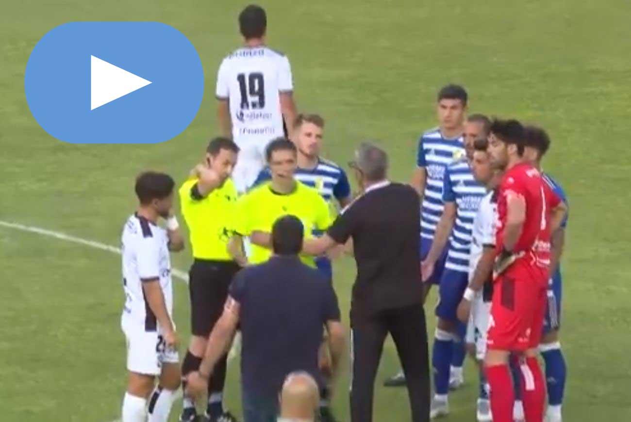 El amistoso entre el Zamora y la Ponferradina termina con un improvisado árbitro 1