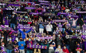 400 entradas viajan a Valladolid para el primer partido con el 100% de aforo en el Toralín 9