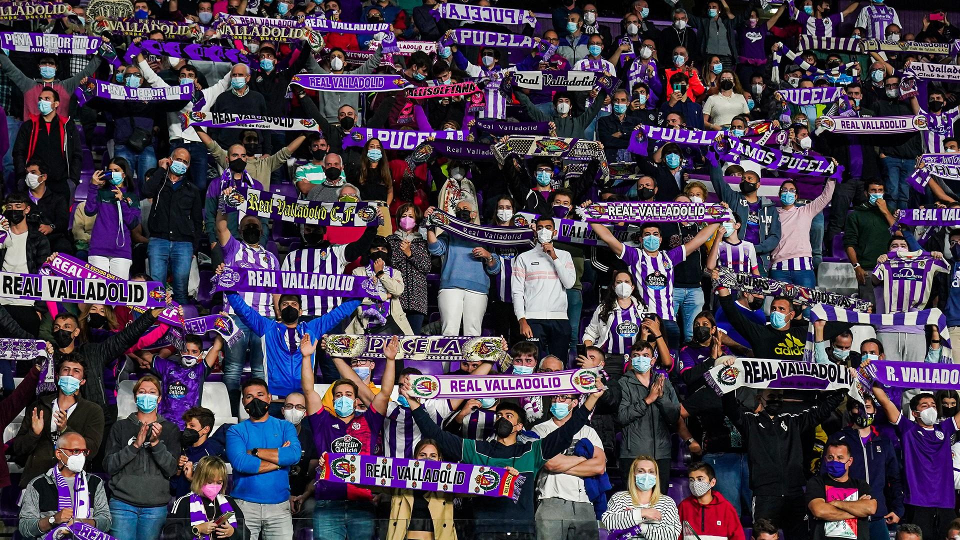 400 entradas viajan a Valladolid para el primer partido con el 100% de aforo en el Toralín 1