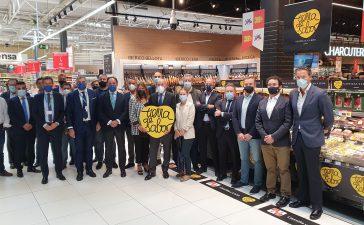 Vinos y pimientos del Bierzo al abordaje de los Carrefour de Madrid 6