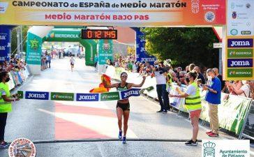 Nuria Lugueros se hace con la media Maratón de Madrid 3