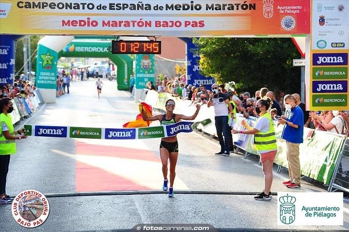 Nuria Lugueros se hace con la media Maratón de Madrid 1