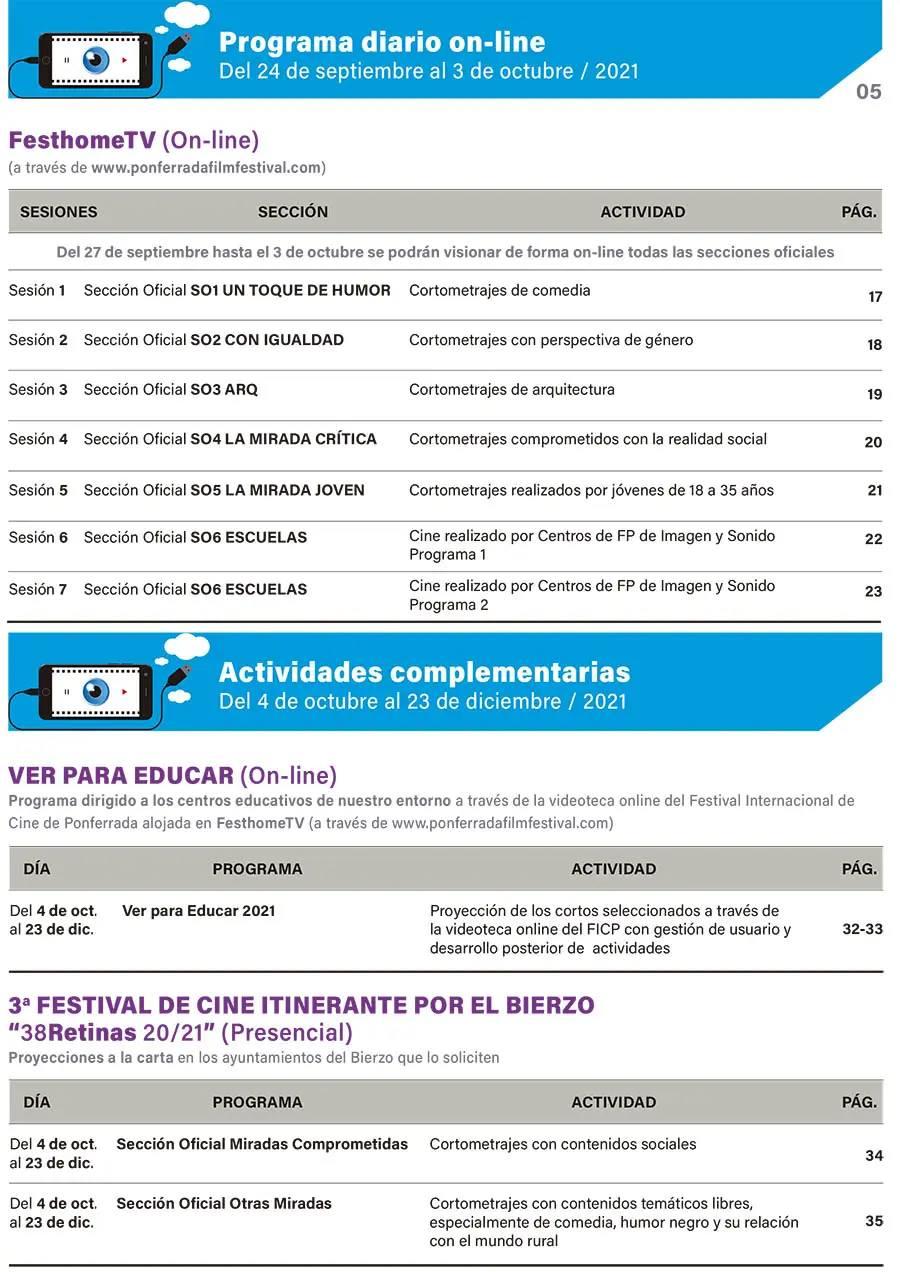 XIV Festival Internacional de Cine de Ponferrada 2021 4