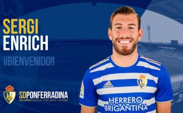 El delantero Sergi Enrich se une a la SD Ponferradina 2