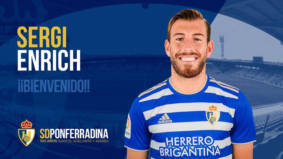 El delantero Sergi Enrich se une a la SD Ponferradina 1