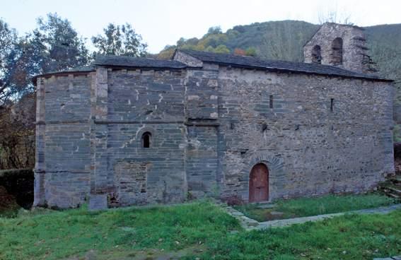 Patrimonio autoriza la reparación de la cubierta de la iglesia de San Juan de San Fiz, en Villafranca del Bierzo 1