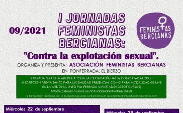 La Asociación Feministas Bercianas inaugura el 22 de septiembre en Ponferrada la primera edición de sus Jornadas Feministas Bercianas 2