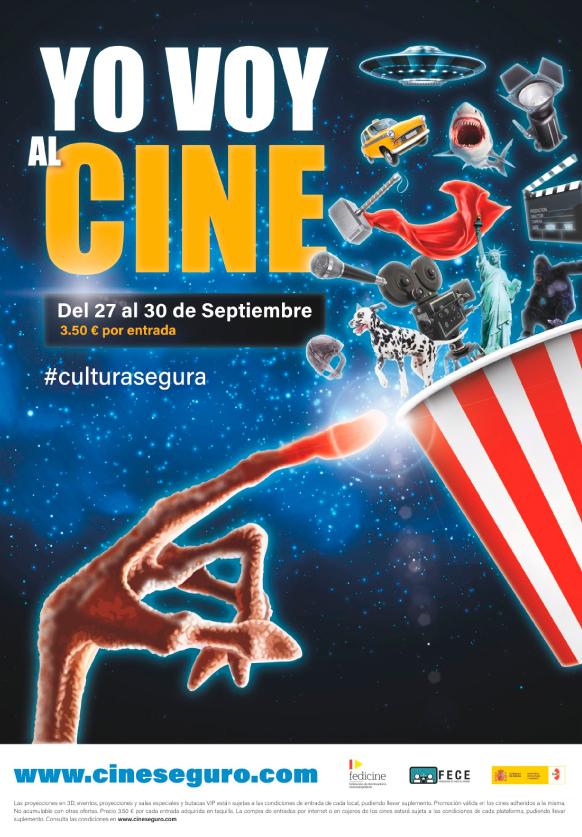 Los cines La Dehesa de Ponferrada se unen a la campaña 'Yo voy al cine' con precio de 3,50€ durante esta semana 2