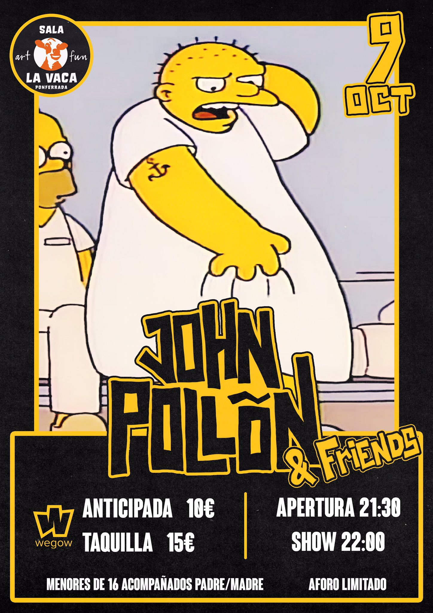 John Pollõn agota en 4 horas las entradas para su concierto en Ponferrada 2