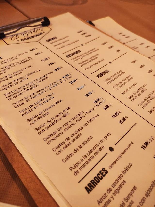 Reseña gastronómica: Gastro Bar El Bordón en Molinaseca 14