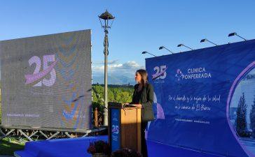Clínica Ponferrada celebra su 25 aniversario haciendo un reconocimiento a los fundadores y sellando su compromiso con El Bierzo 3