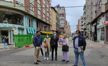 Arrancan las obras de semi peatonalización del segundo tramo de Gómez Núñez 3