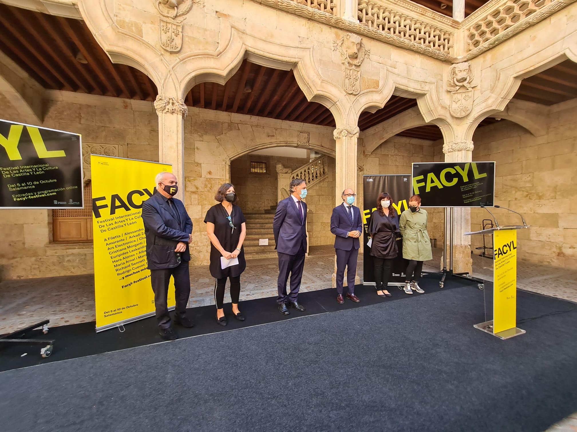 Salamanca recibe el Festival Internacional de las Artes y la Cultura de Castilla y León - FACYL 2021 que contará con una treintena de actividades y artistas de diez nacionalidades 1
