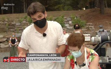 Camponaraya muestra como hacer la empanada berciana en 'España Directo' 2
