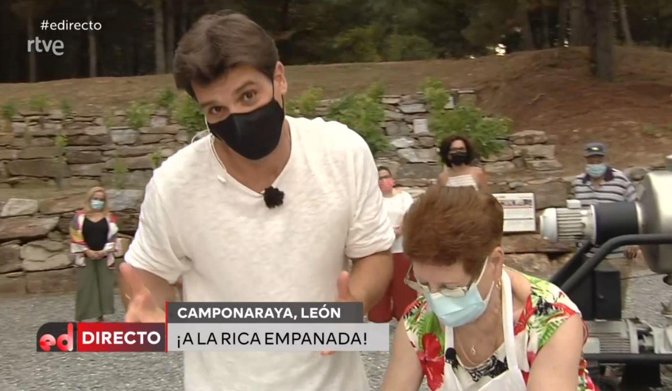 Camponaraya muestra como hacer la empanada berciana en 'España Directo' 1