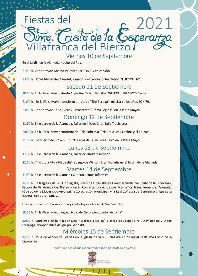 Fiestas patronales en Villafranca del Bierzo en honor al Stmo. Cristo de la Esperanza 2